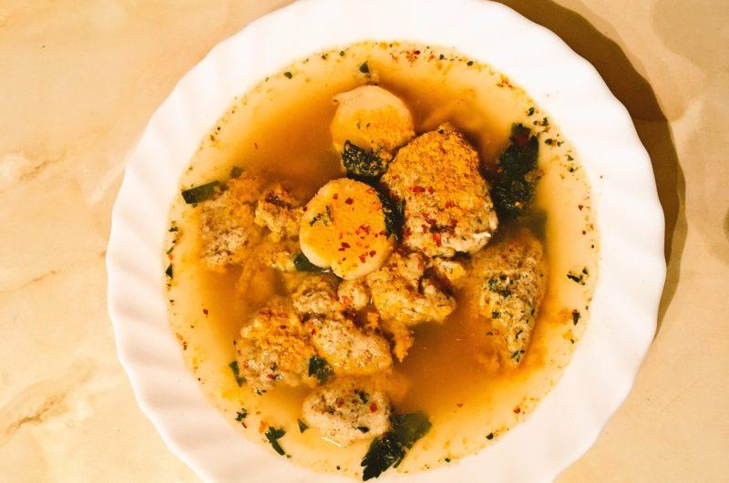 Dumplings on Keto? Try this grandma's soup recipe